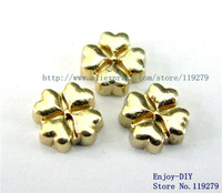 Free shipping clover Floating charms DIY Accessory Fit for Floating charms Locket FC512