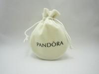 50pcs/lot , 11.5*8.5 cm,round shape,brand  jewelry  beige  color pouches !