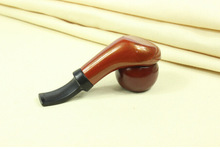 Durable Wooden Enchase Carved Tobacco Cigarettes Cigar Pipes Smoking Pipe Gift hot selling free shipping