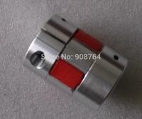3pcs/lot couplings with elastic spider  Aluminium CNC Stepper Motor plum coupling / Coupler,ID: 8*8mm,OD=25mm  length=34mm