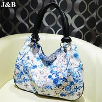 J&B! 2015 Women Messenger Bags PU Leather Bags Female Flower Shoulder Bag Casual Handbag Bolsas Femininas Free Shipping YYJ1201