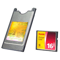 PCMCIA Compact Flash CF Card Reader Adapter for Laptop Brand New