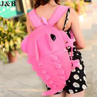 J&B 2015 Women Monster Backpack Casual Bag Backpack Travel Bags Students School Bags Mochila Feminina Free Shipping YYJ1191