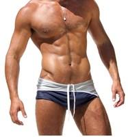 1pcs brand mens swimwear swimsuits men's sport sexy summer beachwear sexy swimming briefs wear hot sea bikini surf pouch