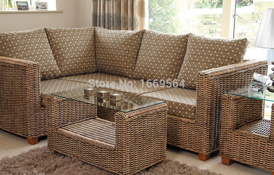 Salon de jardin jardin pas cher meubles en rotin salon en osier rotin ...