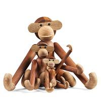 Kay Bojesen Style Small Monkey handcraft very funny wood monkey wood carving classic decoration animals Simulation birthday gift