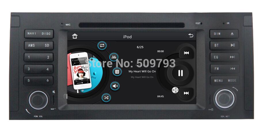 ZESTECH car stereo for BMW E39 X5 E53 M5 car stereo with GPS Navigation,Bluetooth,TV,Radio,Multi-languages,USB,3D map(China (Mainland))