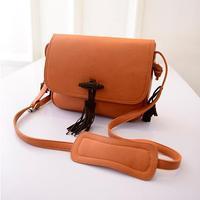 2015 Hotsale Design Women Leather Shoulder Bags Taseel Style New Women's Casual bags Vintage Fancy Women Messenger Bags -015