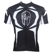 Cool Black With White Strip  Motocross Jersey Full Zipper Climbing Jersey For Men Bike Jersey