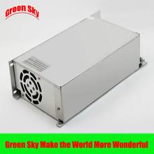 Nova chegada ventilador de refrigeração transformador de tensão Display LED DC única saída 48 v 500 w fonte de alimentação(China (Mainland))