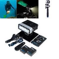 New Gopro Accessories Underwater Diving Light Waterproof Spot Light Outdoor Extreme Sport For Gopro Hero 4 3 3+/2 Sj4000