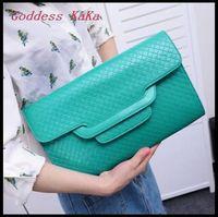 New 2015 Famous Brand Women Handbag Day Clutches Envelope Women PU Leather Handbags Evening Bag Women Cluthes Purse CH017