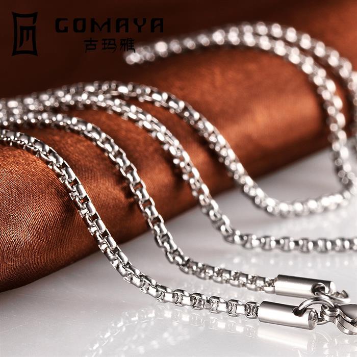 Колье-цепь Gomaya 2015 Colar 316l C008-18 C008-20 C008-22 C008-24