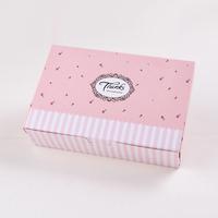 Pink thanks moon cake boxes ,cookies box  30pcs/lot 18.2cmX12.2cmX4.8cm