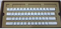 IKBC POKER2 ABS White Keycaps Key Cap Keypress Translucent for Mechanical Gaming Backlight Backlit Keyboard