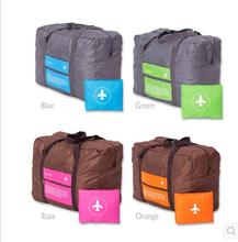 Новые мода спорт дорожные сумки большой емкости женщины холст складной сумки женщины багаж дорожные сумки