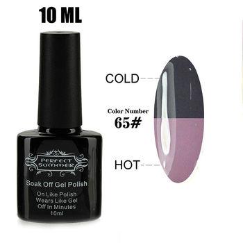 LED UV Nail Polish Soak-off UV Nail Gel Temperature Change Color Gel Nail Gel Polish