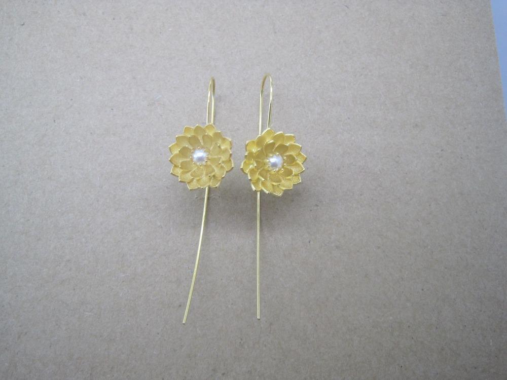 Flower Meanings Water Lily Water Lily Flower Earrings