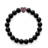 Aliexpress Hot Sale Fashion Bracelet Diy Handmade High Quality Frosted Beads Bracelets for Women Men Jewelry Pulseiras Feminina