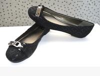 2015 Fashion  G  Metal buckle women 's shoes Flat shoes Free Shipping