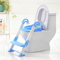 2015 New Babyhood Kids Toilet Trainer Pedestal Toddler Baby Potty Training Seat