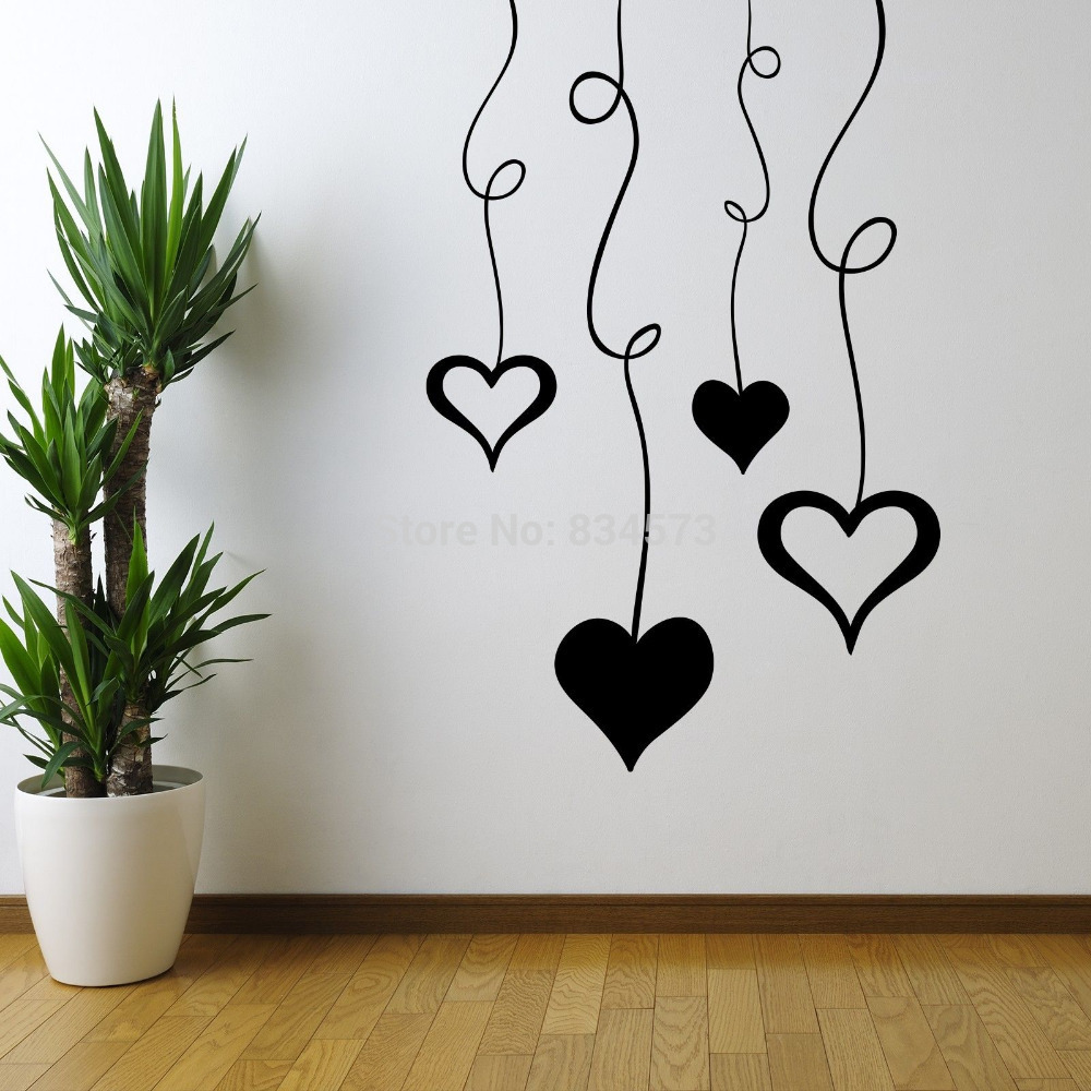 Diy Wall Art Hearts : Aliexpress buy life is like photography bright wall