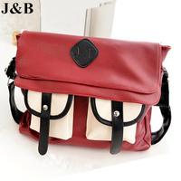 J&B! 2015 Women Messenger Bags Shoulder Bag Female Travel Bag Casual Handbags Package Bolsas Femininas Free Shipping YYJ1197