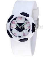 new High quality Free Shipping DHL100pcs/lot boy sports football watch, Quartz jelly watchBirthday Party Gift
