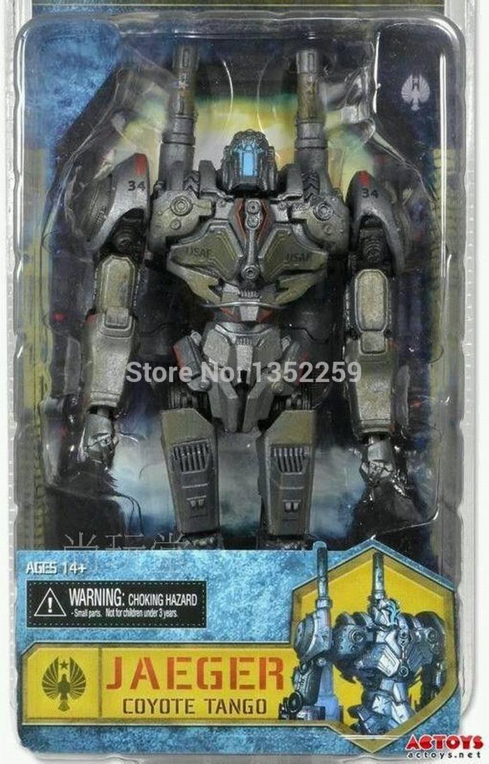 "Pacific Rim Japan Jaeger ""Coyote Tango"" PVC action figure toys 19cm(China (Mainland))"