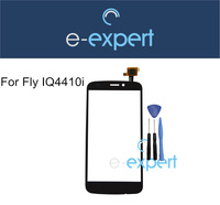 Original interactive touch glass for Phone Fly IQ4410i  iq 4410i Quad Phoenix II Touch screen display with Gifts