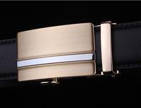 2015 Men's genuine leather belt buckle belt automatic alloy fashion casual belt 006