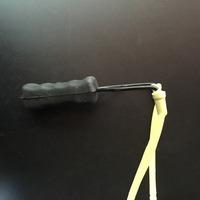 Plastic Elastic Elastica Bungee Rubber Sling Shot Toys Slingshot Bow Catapult Hunting B0905 PBP