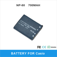 NP-80 700mAh Battery For Casio Digital Camera High Quality Rechargeable Li-ion Battery