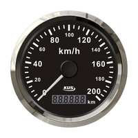85mm GPS speedometer 0-200km/h for motorcycle auto car boat truck marine sailng yatch measuring instrument gauge