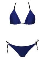 Free Shipping 2015 New Hot Sale Fashion Women Sexy Triangle Top String Ties Bikini Swimsuit Size XS/S/M/L NA40964