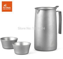 Fire Maple Outdoor Titanium Tea Maker Tea Filter Tea Set Cup Kettle Tea ware FMP T320