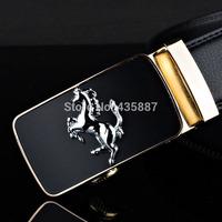 2015 Men's genuine leather belt buckle belt automatic alloy fashion casual belt 0012