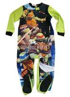 Children boy TMNT teenage mutant ninja turtles Pyjamas Cartoon Cosplay Costume Pajam boy fleece sleeper winter homewear