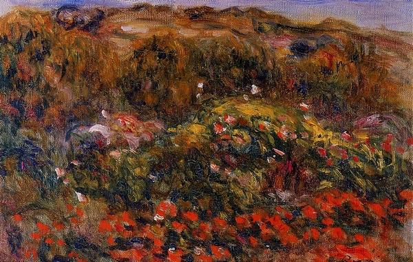 natuurlijke landschap schilderijen landschap schilderen auguste renoir ...