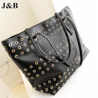 J&B! 2015 Women Messenger Bags Shoulder Bag Female PU Leather Bags Casual Handbag Bolsas Femininas Free Shipping YYJ1200