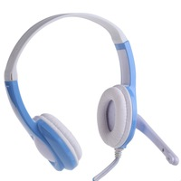 NI5L High Quality 3.5mm Stereo Headphone Headset with Microphone Mic For Phone PC Tablet
