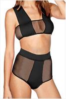 Free Shipping 2015 New Fashion Women Sexy Bandage Design Bikini Swimwear Swimsuit Size S/M/L NA41007