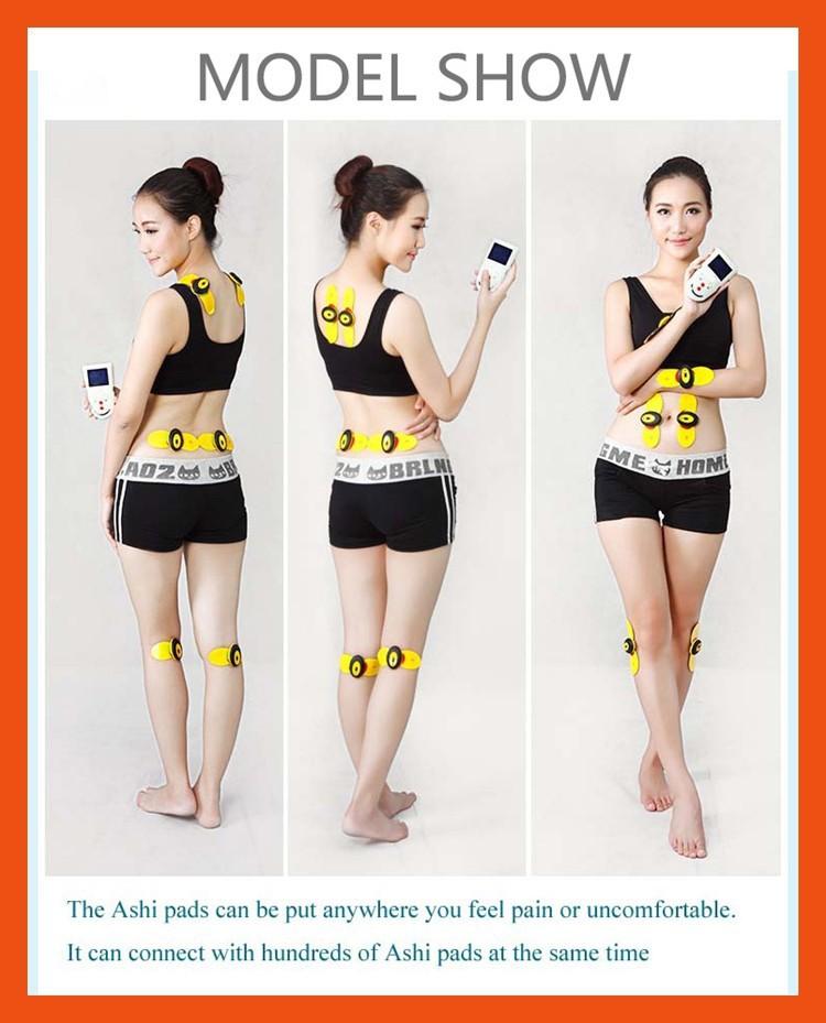 New Professional elétrica Full Body Massager Digital máquina muscular relaxe dor nas costas alívio como visto na tv massageador sexo no banho(China (Mainland))