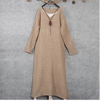 GREY PANEL DRESS 2015 new arrival promotion! unique design dubai abaya dress high quality,cacual daywear light grey linen dress