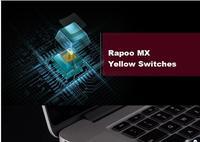 Rapoo Wireless/Wired Mechanical Keyboard Backlight Keyboard Rapoo MX Yellow Switches Slim Stainless steel panel