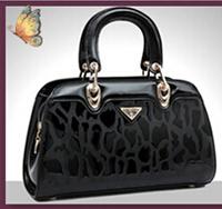 NO.1 New 2015 Patent Genuine Leather Handbags OL Clutch Fashion Women Messenger Bags Brand Women's Handbags Shoulder Bags SJ07