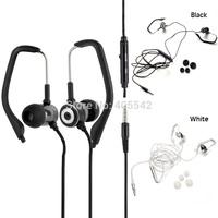 A6 In-ear Ear-Hook Stereo Earphone 3.5mm Plug Sport Running Headphone for PC MP3 MP4 Phone D1149 P