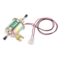 New 12V Heavy Duty Electric Fuel Pump Metal In tank Solid Petrol