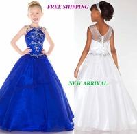 72 2015 luxury beads ball gown flower girl dresses for weddings girls pageant dresses prom dress custom made 2015