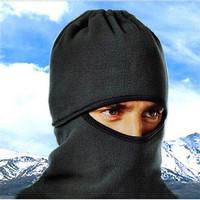 2015 New Cool 2pcs Bike Motorcycle Ski Snowboard Balaclava Ski Face Mask Hat Neck Warm